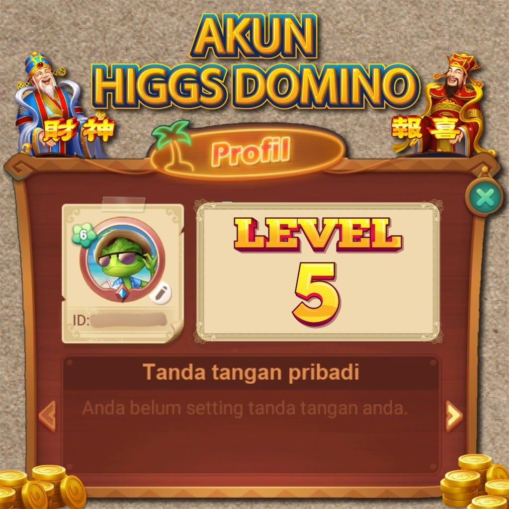 Upgrade-ID-Higgs-Domino-Menjadi-VIP