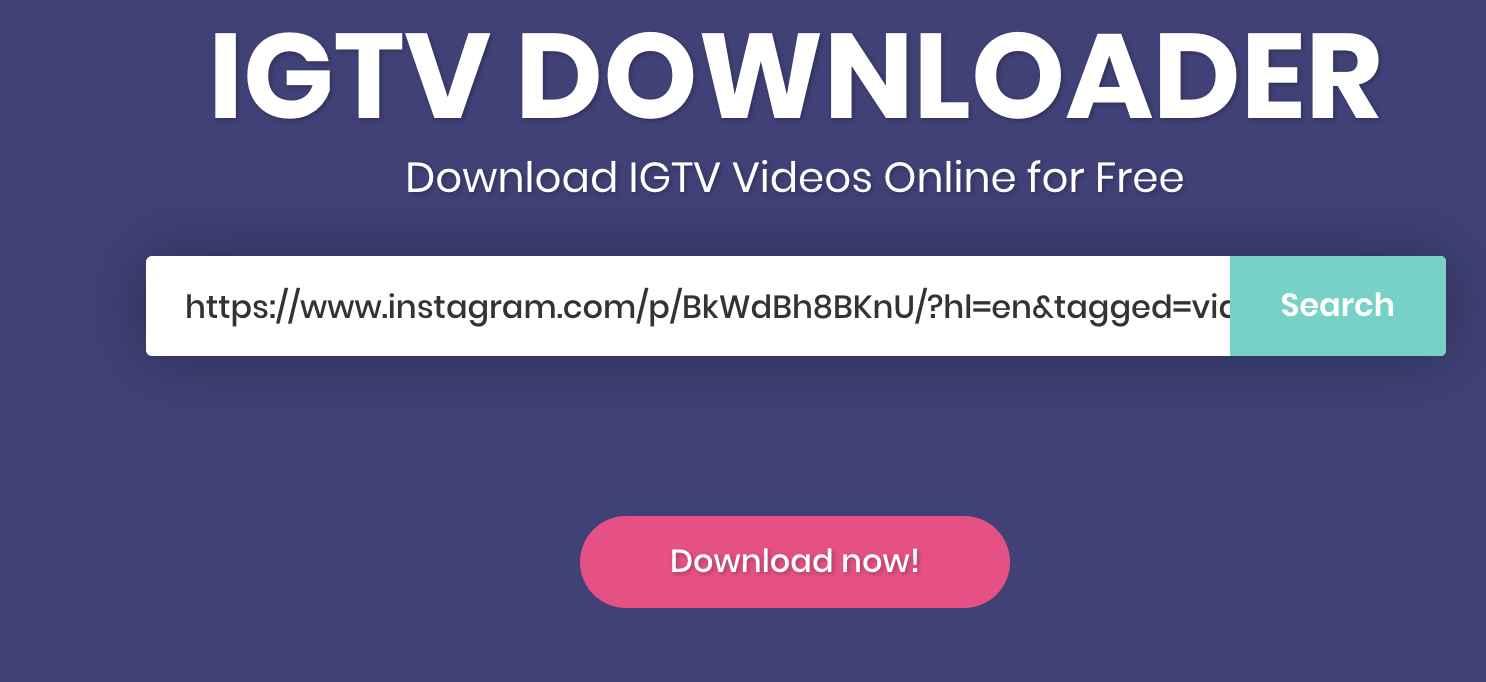 IGTV-Videos-Downloader.