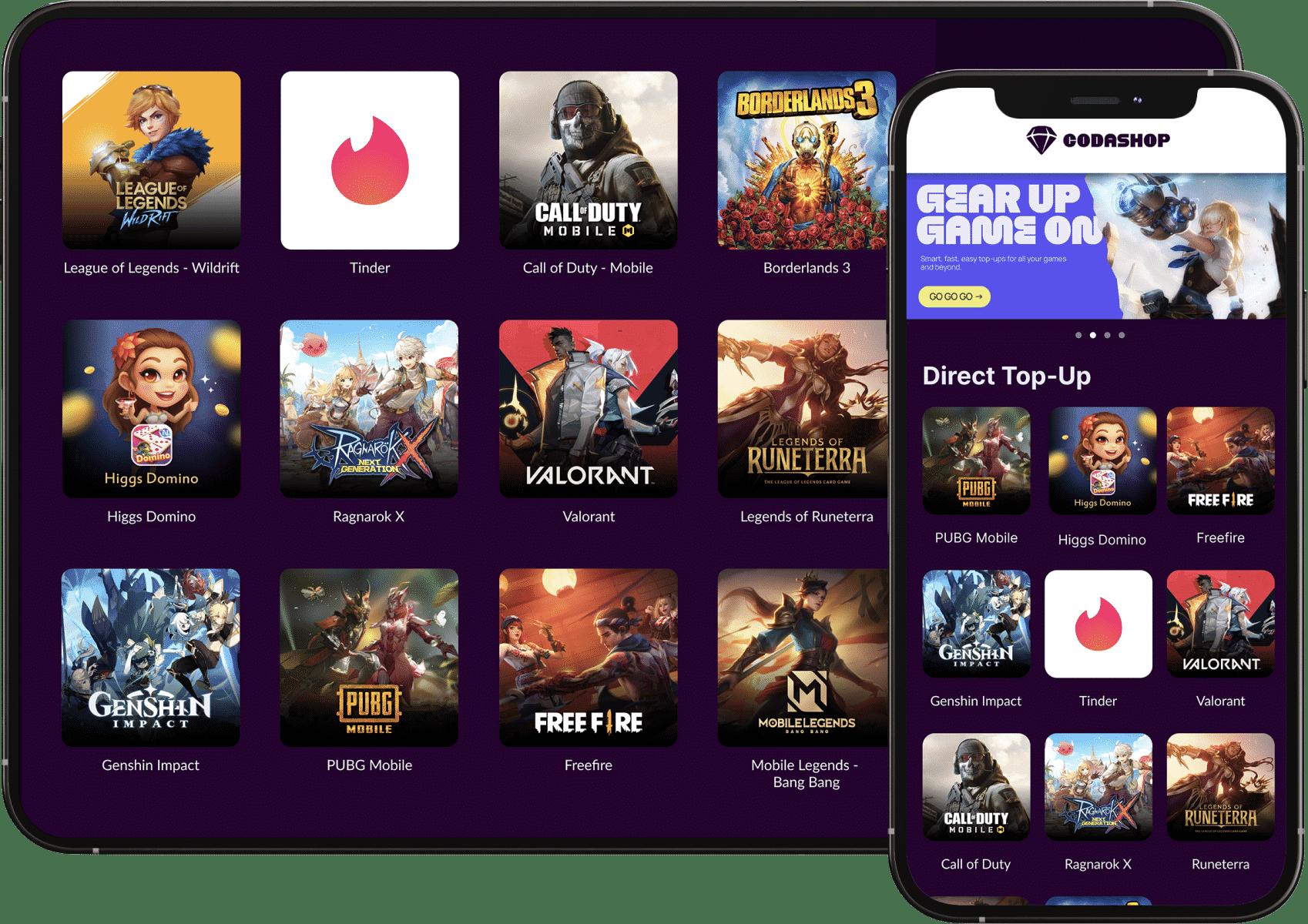 Jenis-Game-Yang-Support-Dengan-Codashop-Pro